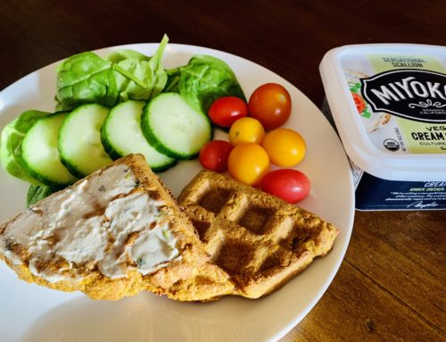 Savory Waffles – Vegan and Gluten Free
